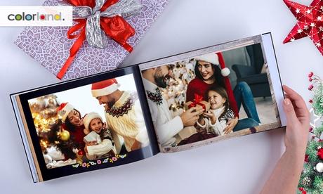 Foto-libro clásico de tapa dura o tapa blanda formato A5 con Colorland (ES) (hasta 93% de descuento)