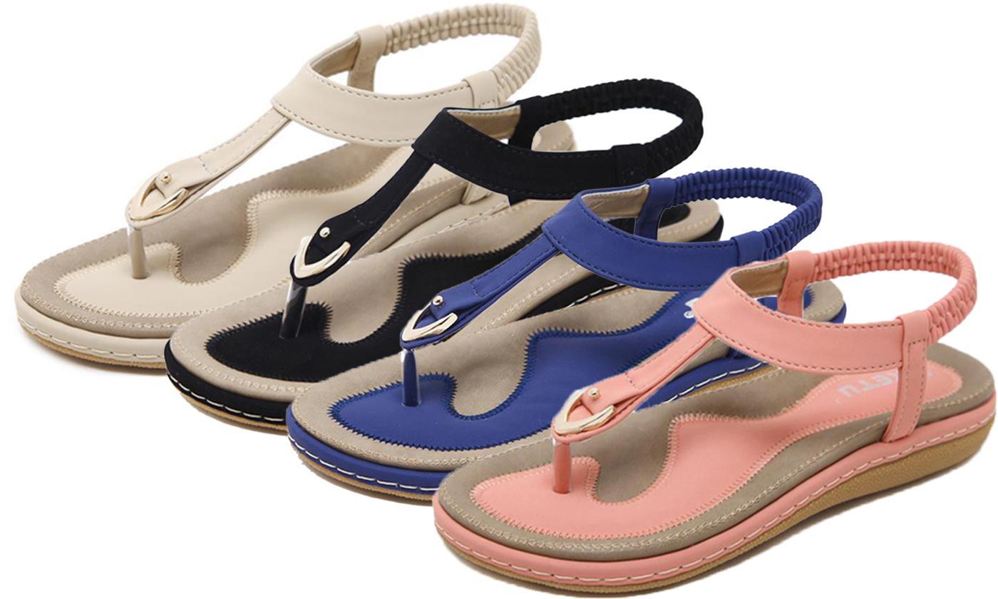 Women's Comfort Slip-On Sandals
