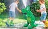 Inflatable Dinosaur, Hydrant, or Dolphin Sprinkler