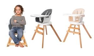 Chaise haute rotative pour bébé