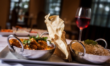 Tandoori Sharing Platter, Choice of Mains and Rice Plus BYOB for Two or Four at Sarpn Group Restaurant (Up to 53% Off)