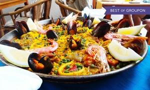 Babylon (Torino): Menu con 1 kg di paella di pesce, impepata di cozze e vino al ristorante Babylon, in centro storico (sconto fino a 70%)