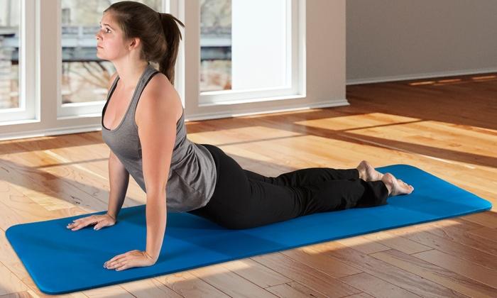 Wakeman Extra Thick Yoga Mat (71x24)