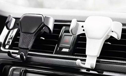 One or Two Universal Air Vent Mount Clip Mobile Phone Holders