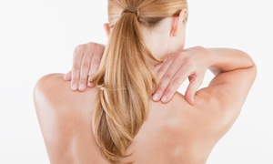 Shine Chiropractic: Chiropractic Package with Adjustment and Cold Laser Treatment at Shine Chiropractic (Up to 75%Off)
