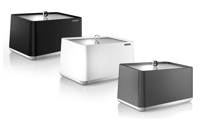 morphy richards aspects bread bin groupon. Black Bedroom Furniture Sets. Home Design Ideas