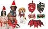 Christmas-Themed Pet Collar