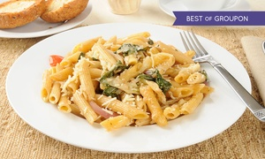 Lucca Bar & Kitchen: Pasta, Risotto or Pizza and Side for Two or Four at Lucca Bar & Kitchen (Up to 49% Off)