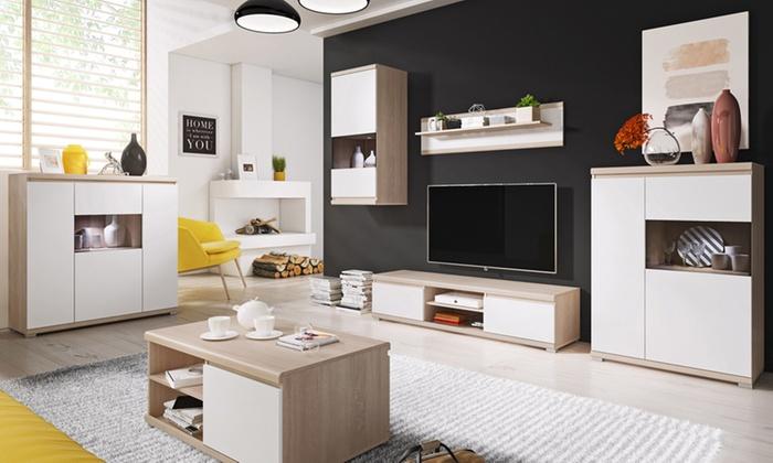 Tot 56% op Meubelset voor de woonkamer   Groupon Producten