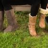 Redfoot Lammfell-Boots
