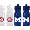 NCAA 24 Oz. Squeeze Water Bottles (2-Pack)
