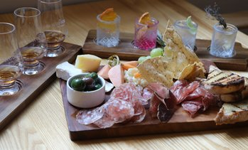 Gin or Whiskey Tasting with Charcuterie