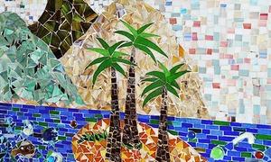 ארט גלאס - הסטודיו לאמנות הזכוכית בירושלים : יצירה בטכניקת אמנות ייחודית: סדנת פסיפס או סדנת ציור על זכוכית, ליחיד ב-89 ₪ או לזוג ב-175 ₪ בלבד!