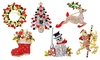 Up To Six Philip Jones Christmas Brooches