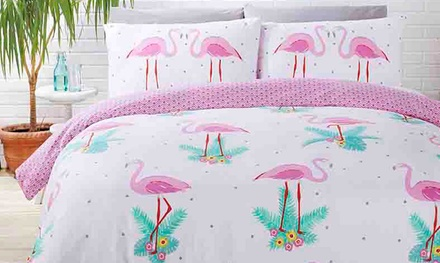 Rapport Home Easy Care Reversible Duvet Cover Set in Choice of Design and Size