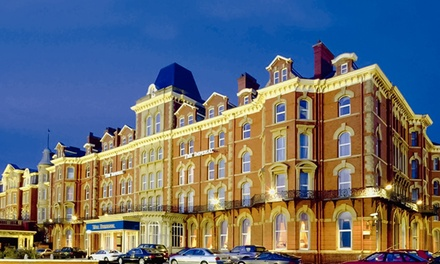 Blackpool: 1 or 2 Nights for Two with Breakfast and Optional Afternoon Tea and Dinner at 4* The Imperial Hotel Blackpool