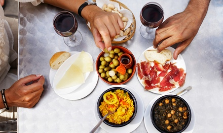 Tapas Meal with Sangria for Two or Four at Saffron Restaurant and Tapas Bar (Up to 43% Off)