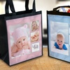 One, Two, or Three Personalized Reusable Grocery Bags