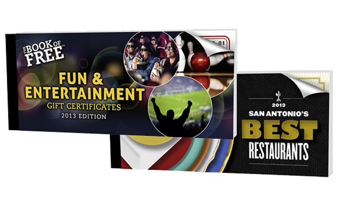 Book of Free: Book of Free Entertainment and Dining Discounts with Shipping Included (Up to 68% Off). Choose from Three Options.
