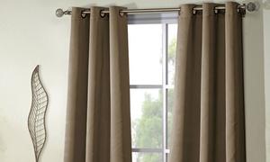 Triple Weave Room-Darkening Grommet Panel Pairs