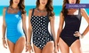Tummy-Control One-Piece Swimsuit