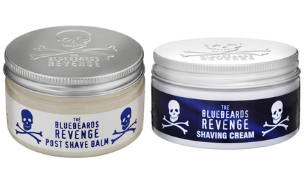 One or Two Bluebeards Revenge 100ml Shaving Cream or Aftershave Balm or Cream and Balm Set