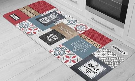 Tapis de cuisine imprimé