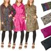 Women's Lightweight Hooded Packable Raincoat