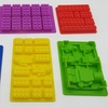 LEGO-Shaped Silicone Baking Molds (6-Piece)