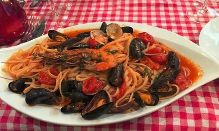 2 entrée, 2 plats et 2 desserts au choix sur la carte en semaine ou le weekend dès 39,90 € au restaurant Benvenuto