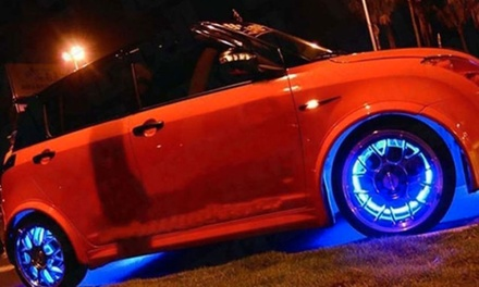 Two or Four LED Lights for Wheels