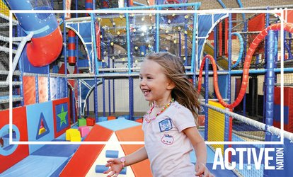 Soft Play Entry with Soft Drink for Up to Four at Birchwood Leisure Centre (Up to 49% Off)