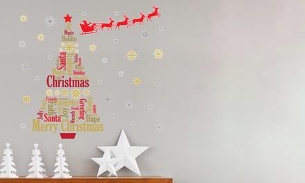 Walpus Christmas Wall Decals