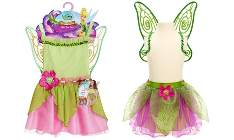 Disney Fairies Tink's Pixie Dress and Wings or Party Tutu and Wings 53d0a0fa-b38a-11e7-8d82-00259069d7cc