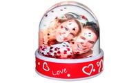 Foto bola de nieve pesrsonalizada a elegir entre diferentes modelos con envío gratuito desde 22,90 € en Personaliza.com