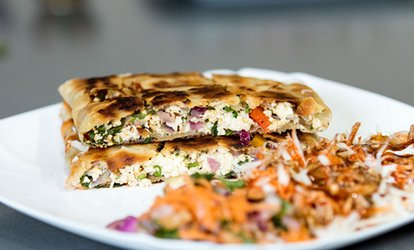 Chapatti, Chips and Soft Drink for One or Two at Poussin Plaice (Up to 42% Off)