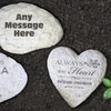 Up to 50% Off Custom Engraved Large Garden Stone