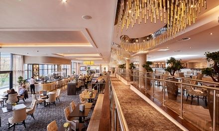 TwoCourse Meal with a Glass of Wine For Two or Four at 4* Park Regis Birmingham