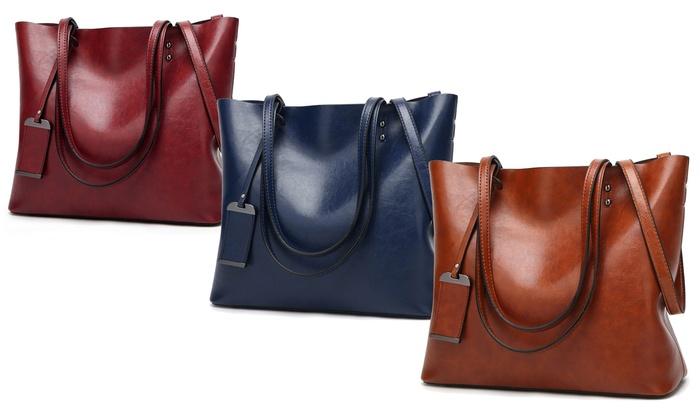 ec48bf0e71 Sac cabas en cuir | Groupon Shopping