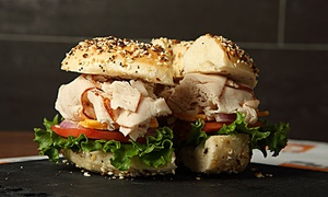 Barry Bagels: $11 for 2 Regular Sandwiches & 2 Bags of Chips at Barry Bagels ($16.76 Total Value)