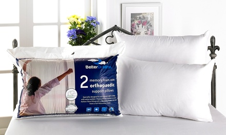 Up to Six Better Dreams Memory Foam Core Pillows