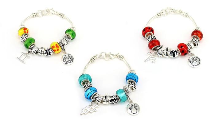 Landau Zodiac-Themed Charm Bracelet: Landau Zodiac-Themed Charm Bracelet. Multiple Options Available. Free Returns.