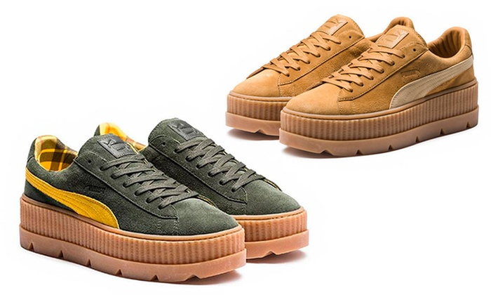 photos officielles 51e98 49204 Basket plateforme Puma Fenty | Groupon