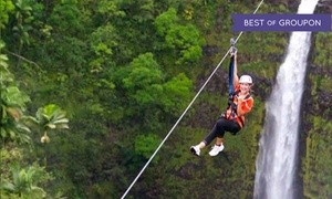 Skyline Eco Adventures -  Big Island: $119 for a Skyline Big Island Tour for One Person from Skyline Eco Adventures - Big Island ($169.95 Value)