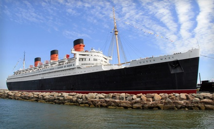 Stay with Parking and Theater and Churchill Exhibit Tickets at The Queen Mary in Long Beach, CA. Dates into March 2019.
