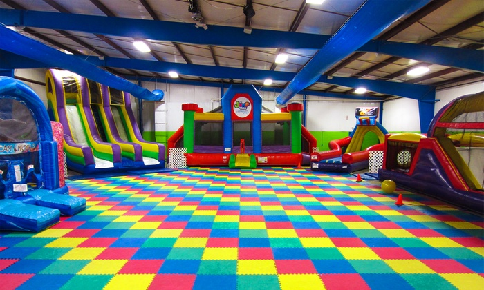 The Jump Yard - Parma: One Admission to Thursday Night Glo Night or Friday Night Teen Night at The Jump Yard (Up to 43% Off)
