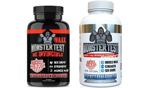 Angry Supplements Monster Test MAXX and Monster Test Supplement Set