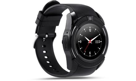 Smartwatch V8 con ranura paraSIM, cámara y Bluetooth