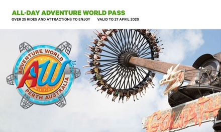 $45 for AllDay Adventure World Pass with Unlimited Rides Up to $62.50 Value