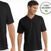 2-Pack of Jockey Staycool V-neck Undershirts in Black